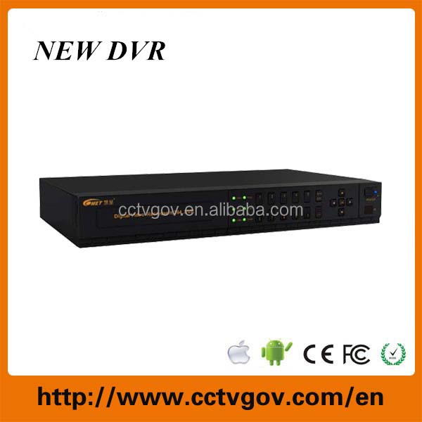 1 HDD 8ch analog HD H.264 CCTV DVR supports Cloud technology P2P 3G DVR