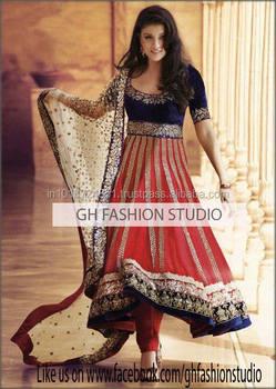 Designer Indian Anarkali Suit 2017, View Designer anarkali suit 2017, GH  Fashion Product Details from G H FASHION on Alibaba com