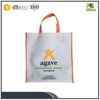 Economy A4 non woven flat bags polypropylene bag manufacturing school publicity advertising bag