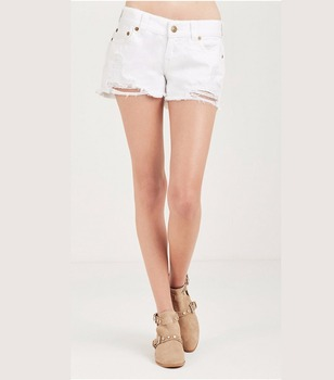 37046fa41d 2018 Hot Pants Jeans Sexy Hot New Low Rise Cutoff Woman Short Jeans ...