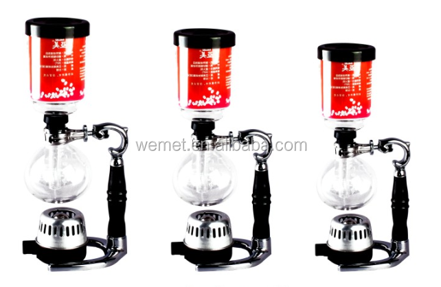 Balancing syphon coffee maker / New siphon coffee maker