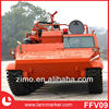 All-terrain forest fire fighting vehicle