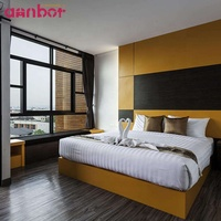 Annbor Furniture High quality luxury hotel furniture bedroom sets for 5 star hotel furniture