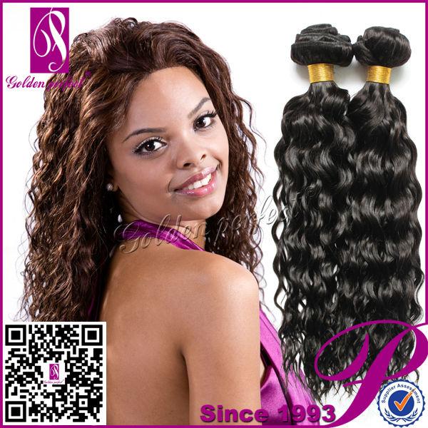 14 Inches Permanent Human Hair Weaving Brazilian Loose Curls Buy