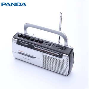 Hot sale portable radio double cassette player recorder