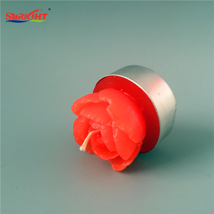 Home decor wholesale candle door gift carved flower candle