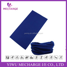 Deep blue solid color seamless tube headwear bandanas for wholesale