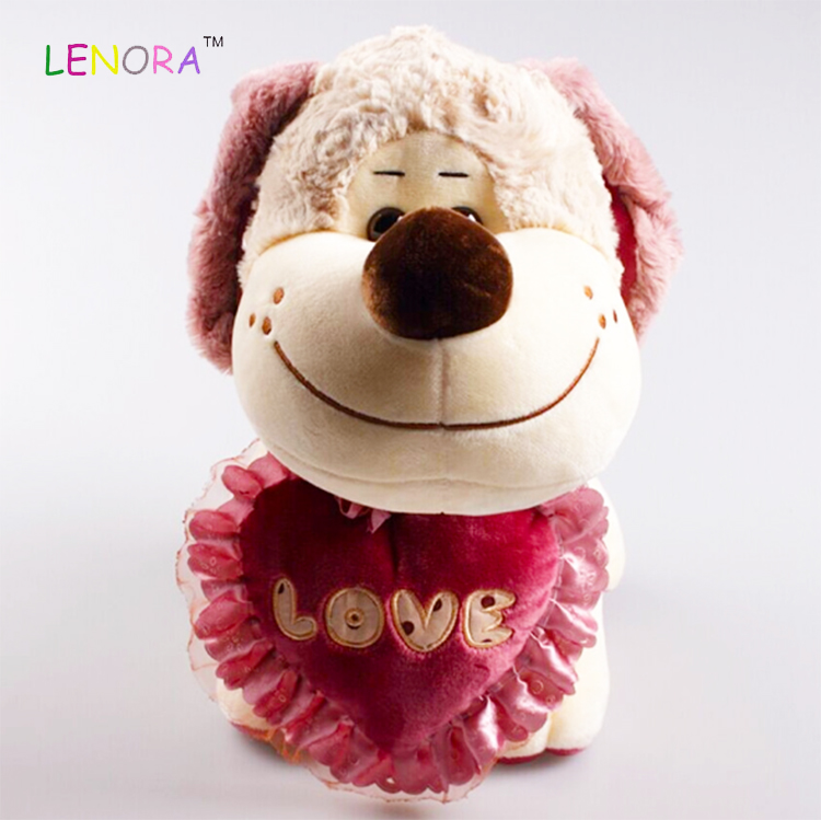 Manufacturer's direct selling wedding LOVE dog puppy dog doll festival valentine's day gift