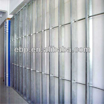 Light Gauge Steel Frame Structure For Drywall Profile Ceiling ...