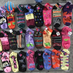 Men and women 3 pair packed sport ankle socks in stock