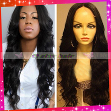 fashion body wavy malaysian front lace wig glueless full lace human hair wigs baby hair around