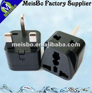 British latest type multi plug travel charger three pins