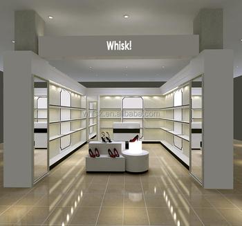 Awesome Hot Sale Shoes Shop Interior Design Decoration Showcase Designs