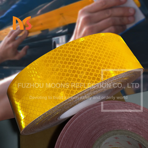 Custom Ece 104 truck normal pvc pet clear reflective tape for wholesalers