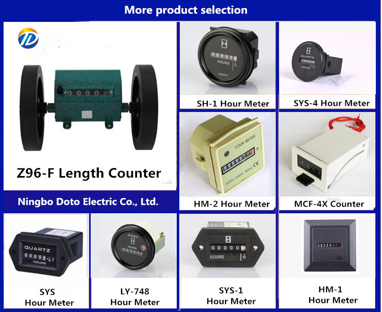 Sys-1 Quartz Mechanical Timer machine counters electric timer counter meter