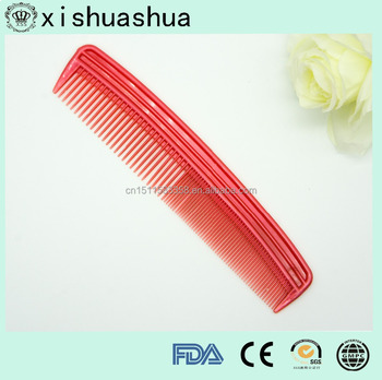 China Personalized Hair Comb Plastic Bulk Combs