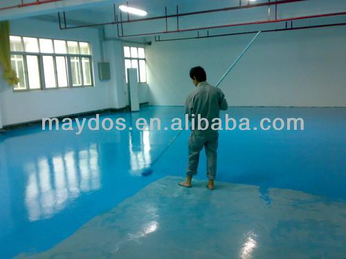 Hot Selling! Maydos Alll Weather Colorful Sand quartz Patterns Epoxy Warehouse Flooring Paint(China Flooring Paint/Maydos Paint)