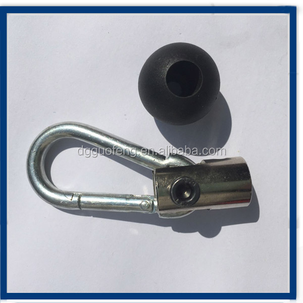 wire rope terminals and fittings/ball head terminal/hook with U-shape terminail