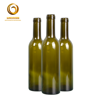 Good quantity 375ml glass wine bottle with bottle lid CYC-233
