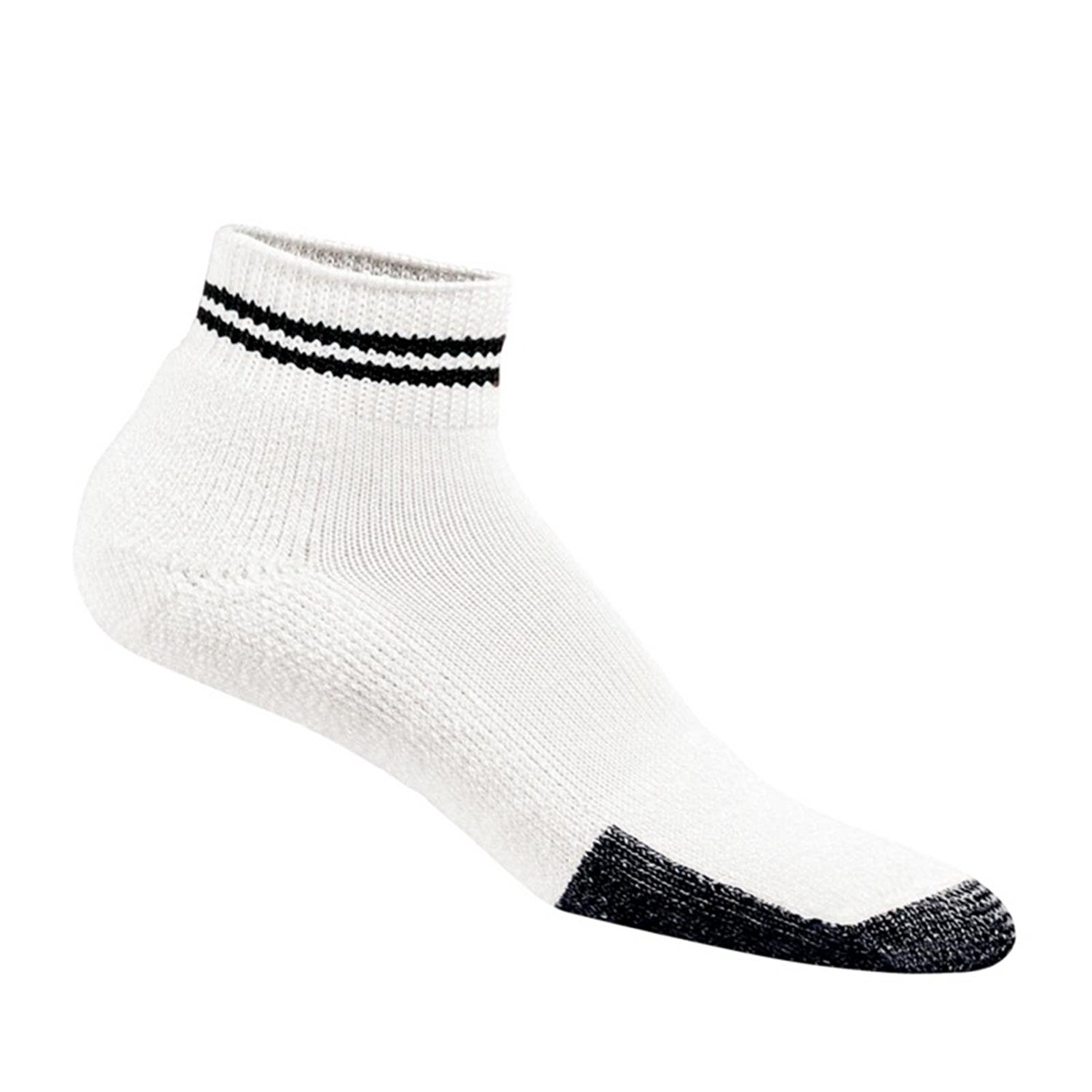 Thorlos Thick Cushion Tennis Crew with a Helicase Sock Ring