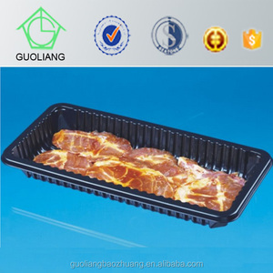 Professional Customized and Design Cold Storage Plastic Shallow Meat Tray