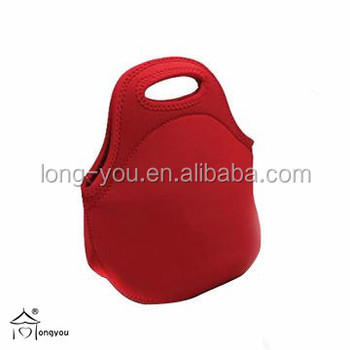 AIOIAI Red Mini Cooler Bag Insulated Lunch Bag Portable Thermal Insulated Cooler Bag Tote Cooler Lunch Box for Women