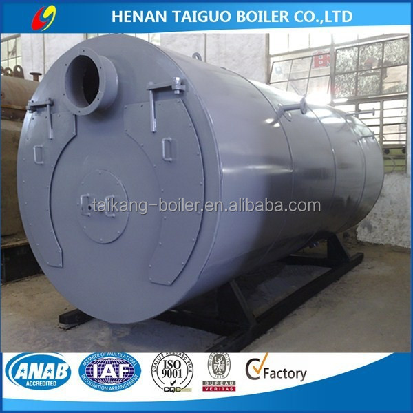 2016 New Condition and 8 ton/h Industrial WNS oil (gas) fired Steam Boilers