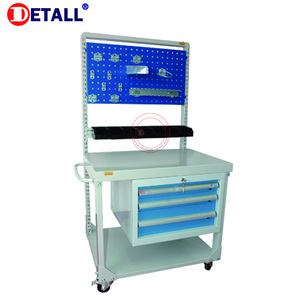 Detall- storage steel tool chest cabinet for heavy duty working