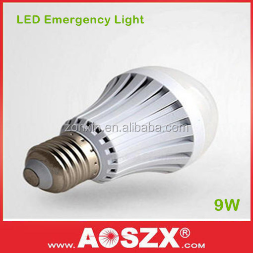 Smartly Light on 6-8 Hours Lighting B22 E27 Rechargeable Emergency LED Battery Lamps