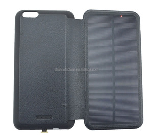 4.7inch solar mobile phone Battery charger case 3000mah for iphone 6/7/8