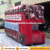 Hot sale inflatable fire engines shape inflatable fire car model for event
