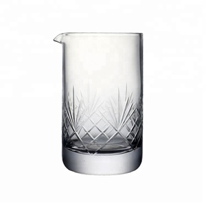 Lead free crystal cocktail glasses set for bar