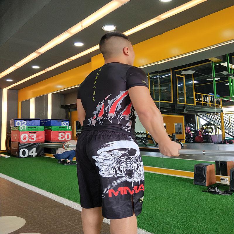 Shenzhen Factory OEM Custom Kick Thai Boxing Pants Sports Suit