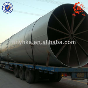 Yuhui cement calcination rotary kiln for sale used in chemical industry