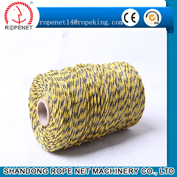 most commonly used security electric fence polypropylene rope 008618853866282