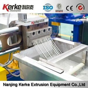 Nanjing China PP/PE/ABS twin screw extruder recycling plastic machine