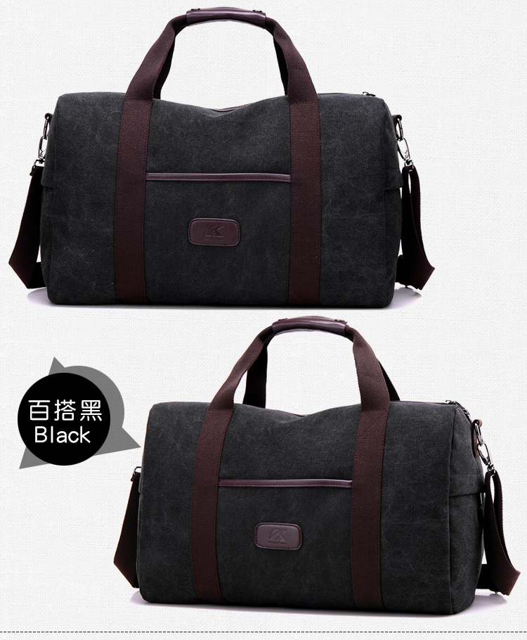 Bolsa De Viagem 2018 New Arrival Men Travel Bags Kvky Bag Large Capacity  Hand Luggage Duffle Canvas Weekend Multifunctional 16263c45fe3de