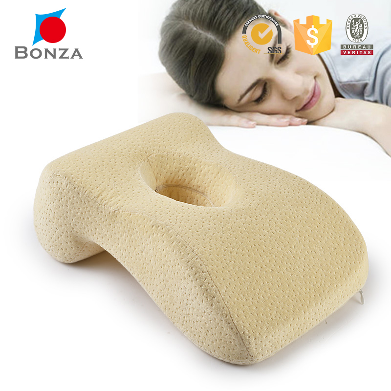 Factory produce high quality memory foam face cradle travel pillow for sale