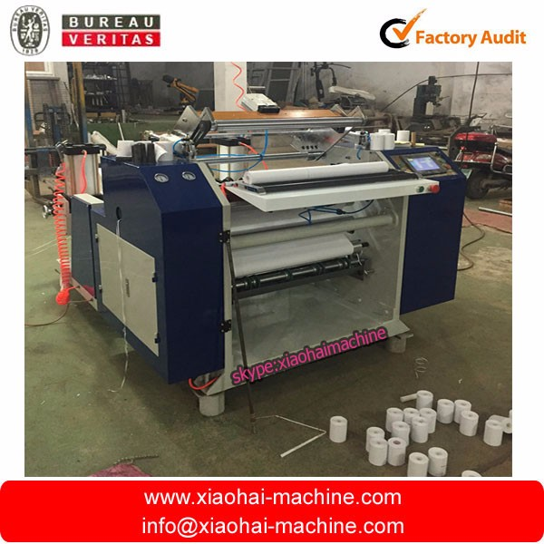 8mm/10mm Coreless Thermal Coating Paper Roll slitting machine