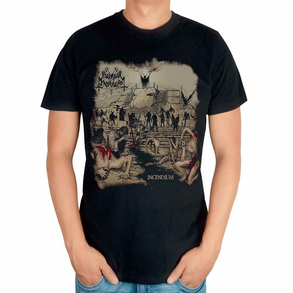 697ead20e5e6 Get Quotations · Burial Hordes Rock Brand Black shirt 3D High Quality mma  fitness heavy Metal 100%Cotton