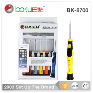 BAKU 4 types in one mobile phone repair screwdriver set with opening tools BK8700