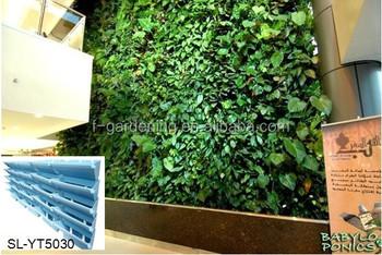Vertical Garden Wall Pocket Planter, Vertical Hanging Garden Planter,  Living Wall Trays SL