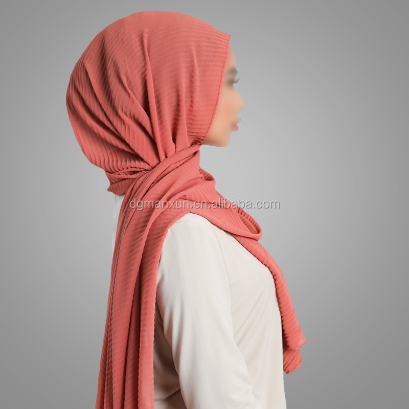 High quality Muslim Hijab Crinkle Scarf Turkish Style Scarves