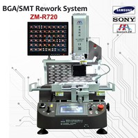 full automatic bga reball machine ZM-R720 bga soldering station for playstation 2 motherboard refurbished