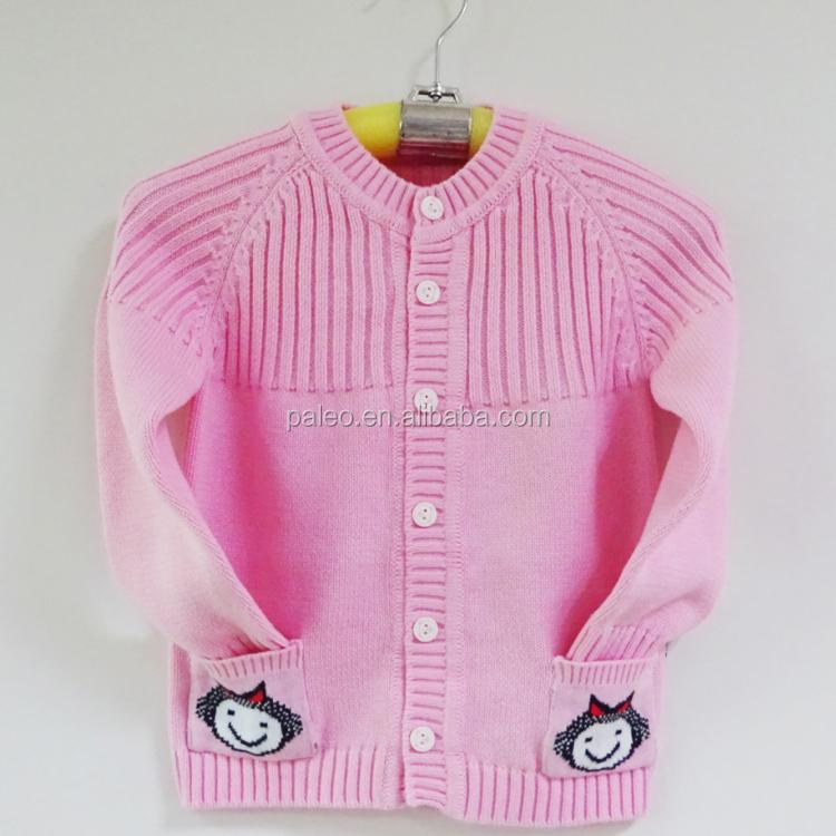 377d192d3 China Manufacturer Plain Baby Girl Wool Knit Sweater Cardigan - Buy ...