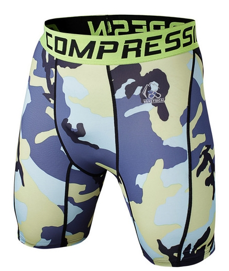 Polyester spandex kühle design kunden sublimation kompression shorts