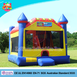 High quality Customize wholesale commercial bounce houses/bouncy castle