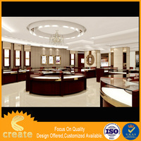 Factory Direct Wholesale New Design And For Free Used Jewelry Showcases Display Showcase With Led Light