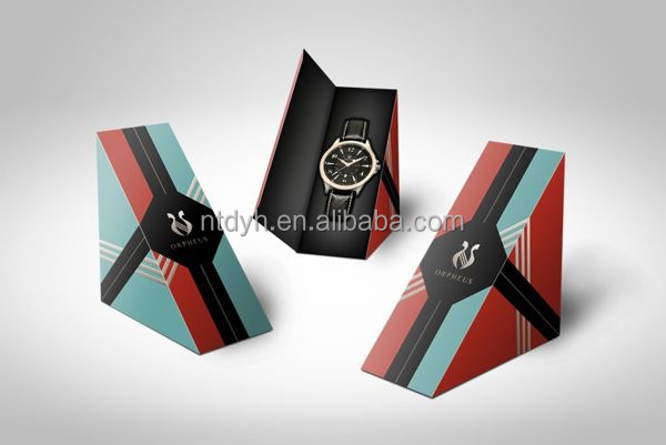 new design small gift paper watch box jewelry box for watch