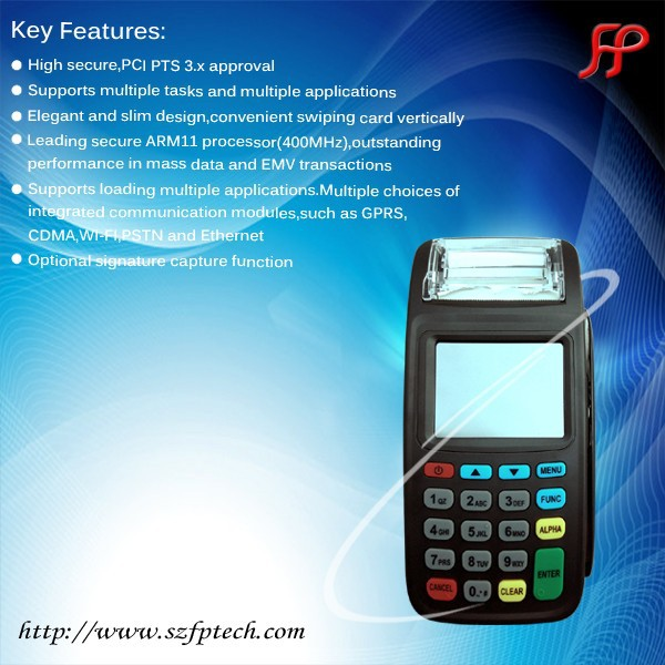 NEW8210 3G Bus Pos for Public Transport payment System